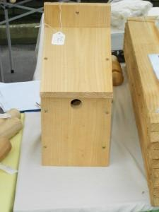 Hand crafted bird box