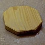 wooden pan stand